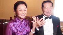 华裔神探李昌钰美国完婚戴5克拉钻戒?马克笔画的