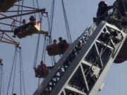 长沙游乐设备故障 34人被困20米高空 游客:再也不敢了!
