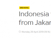 为什么印尼突然决定迁都?