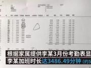 深圳一外企员工连续加班一个多月后自杀身亡