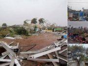 印度遭遇最强热带气旋 7人死亡 80万人撤离!