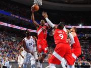 NBA|美职篮东部半决赛猛龙客胜76人扳平总比分