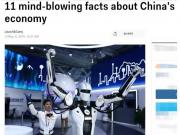 美媒:中国经济令人吃惊的11个事实 你不可不知