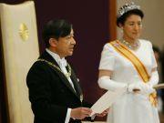 日本新天皇发表即位后首次讲话