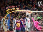 欧冠最佳进球:梅西对利物浦的任意球