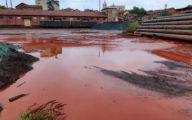 洞庭湖雨天被排入大量红、黑水?岳阳官方回应