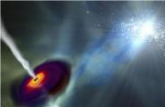 当黑洞把物质吸进去时,它去了哪里,或者又发生了什么?