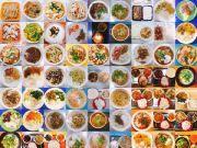 连拍四年大学饭菜:一共729顿饭