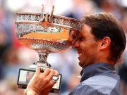 纳达尔法网12冠!创造单一大满贯夺冠次数新纪录