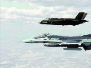 美军用F-35模拟歼20?专家:性能差太大 不够逼真
