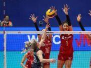 世界女排联赛江门站 中国3:0横扫波兰豪取八连胜