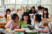"""河北一大学""""最牛学霸宿舍"""":9名女生8人考研成功"""