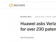 大快人心!华为反击美电信运营商措手不及,面临10亿美元专利费!