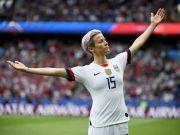 美国女足2-1法国晋级4强