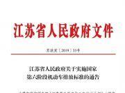 7月1日起,江苏机动车实施新标!