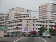 朝鲜街头的中国国旗