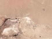 两次地震后 卫星照片显示加州出现一条巨大裂缝