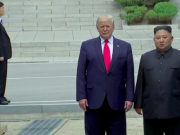 特朗普踏上朝鲜领土 与金正恩板门店会面
