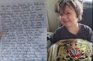 脑瘤男孩礼物被偷,盗贼退回礼物还写了4页道歉信,内容让人难过