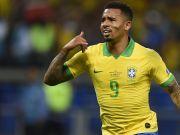 巴西2-0阿根廷:热苏斯菲尔米诺各建一功