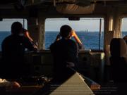 中国海军神盾舰通过英吉利海峡 遭英军舰跟踪