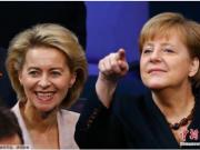 欧盟委员会迎首位女主席 冯德莱恩誓言建立强大的欧盟
