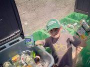 7岁男孩当上CEO 成立垃圾回收公司,致力于环保事业