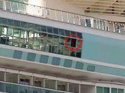 18月大女童意外从游轮窗口坠落死亡 母亲目睹痛苦尖叫