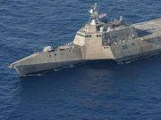 剑指中国?!美军新派战斗舰常驻新加坡