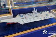 辽宁舰设计单位展示9万吨新航母 采用两种起飞方式