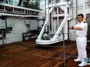 """探访我国首艘自主建造的极地科考破冰船""""雪龙2""""号"""
