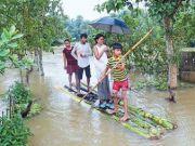 特大洪灾肆虐南亚三国