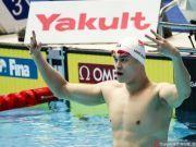 游泳世锦赛孙杨400米自由泳四连冠 生涯第十金!