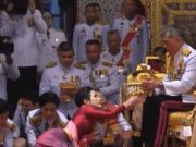 87年来首次!泰国国王公开纳妃 34岁女少将被封贵妃