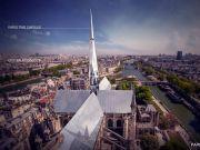 巴黎圣母院屋顶设计大赛结果出炉:中国建筑师夺冠