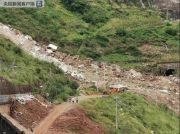 成昆铁路甘洛段突发山体崩塌 致24人遇险11人获救