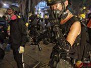 武器库更新?香港暴徒首次被发现使用气枪