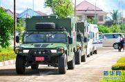 老挝车祸受伤的20名中国游客回国(组图)