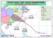 """台风黄色预警!""""白鹿""""或将于中午前后登陆台湾东南部沿海"""