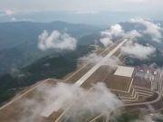 从云端起飞 海外网友被这座中国机场圈粉了
