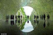 """惊艳!中国建筑师在日本设计一条""""光之隧道"""""""
