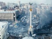 """香港示威者举行放映会 播放乌克兰""""革命""""纪录片"""