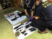 台湾街头传30声枪响:歹徒持13把枪 警方吓出冷汗