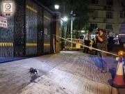 港独分子黎智英寓所遭掷汽油弹 两人乘电动车逃去