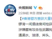 香港警方查获大量假记者证