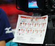 世界杯中国女排vs日本女排首发 六奥运冠军出战