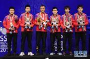3比0战胜韩国队中国男乒夺得冠军