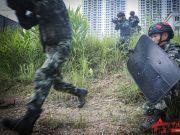 过节不忘战备 多科目训练锻造特战尖兵
