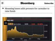 蔚来汽车股价跌超10%,4年亏400亿!分析师:特斯拉年内在华量产