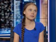 瑞典16岁环保少女:一进美国港口就闻到污染的臭味
